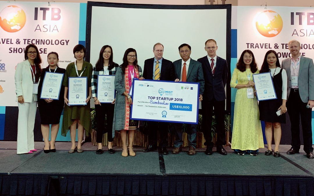 BambooLao Wins Regional Travel Startup Competition